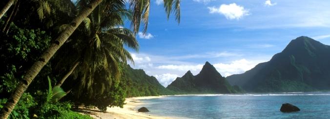 Ofu Island in American Samoa